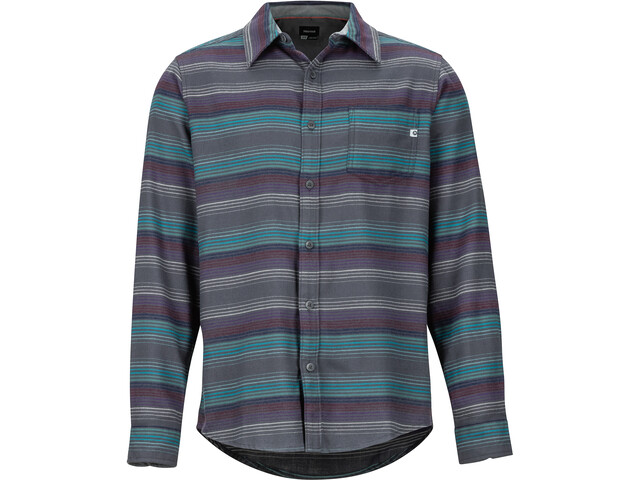 Marmot Fairfax Chemise Manches longues Flanelle Midweight Homme, fig